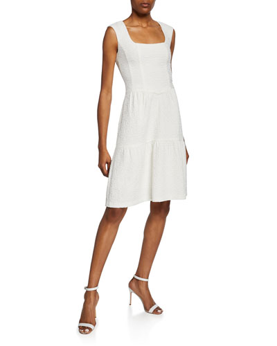 549eed39e88 Quick Look. Nanette Lepore · Nomad Square-Neck Sleeveless Cotton Dress