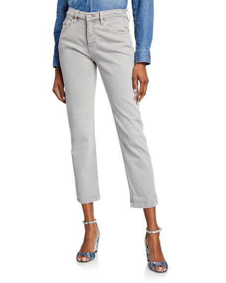 Hudson Jessi Relaxed Cropped Boyfriend Jeans