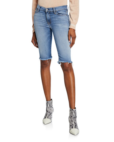 08633caa0a Knee Length Cotton Shorts | Neiman Marcus