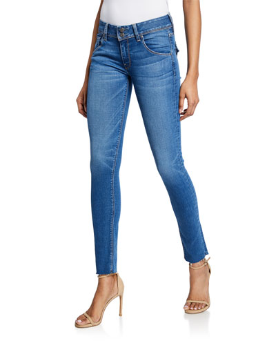 Collin Mid-Rise Skinny Ankle Jeans