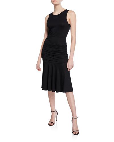 Jace Ruched Sleeveless Dress