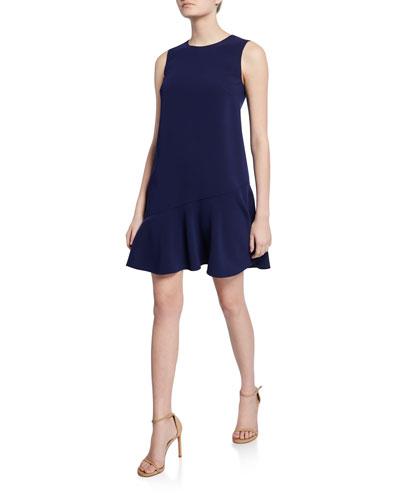 55371703699b8 Quick Look. Diane von Furstenberg · Alyson Sleeveless Mini Asymmetric  Flounce Dress