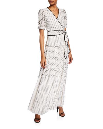 Celestine Maxi Wrap Dress