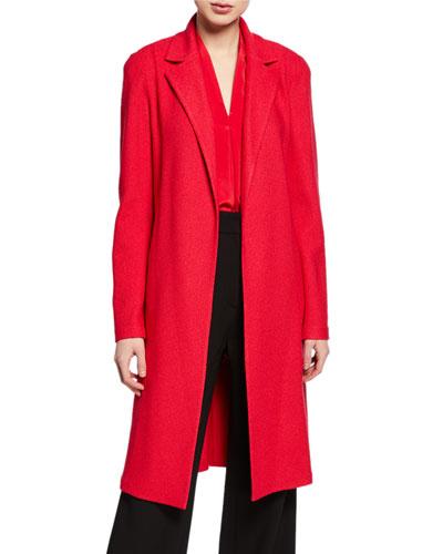 Gail Open-Front Knit Jacket