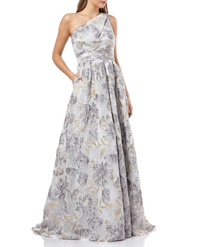 605ba997f399 One Shoulder Gown | Neiman Marcus
