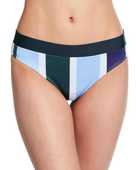 Mei L'ange Valentina Striped Hipster Bikini Bottom