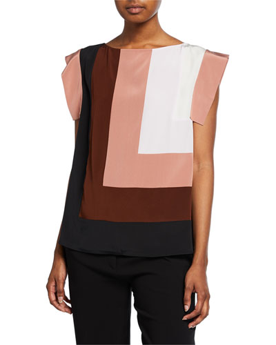 Ida Colorblock Pullover Top