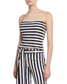 Mestiza New York Ava Striped Tube Top