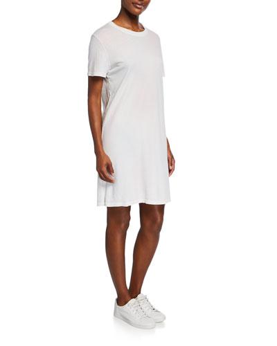 The Beatnick Crewneck Short-Sleeve Dress