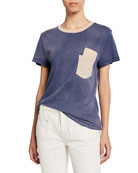 Current/Elliott The Desert Days Double-Pocket Short-Sleeve Tee