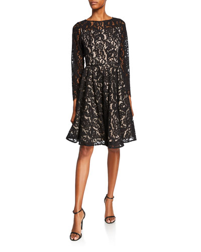 9981ec8ca74e Black Bateau Dress | Neiman Marcus