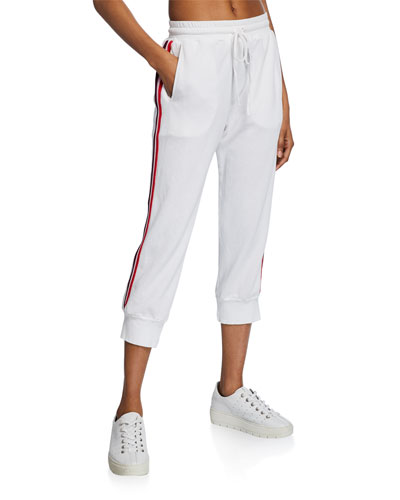 Simon Side-Stripe Drawstring Sweatpants