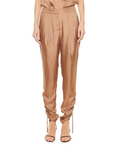 Mendini Pleated Twill Easy Pants
