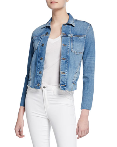abc6673c6bdc Cotton Slim Jacket | Neiman Marcus