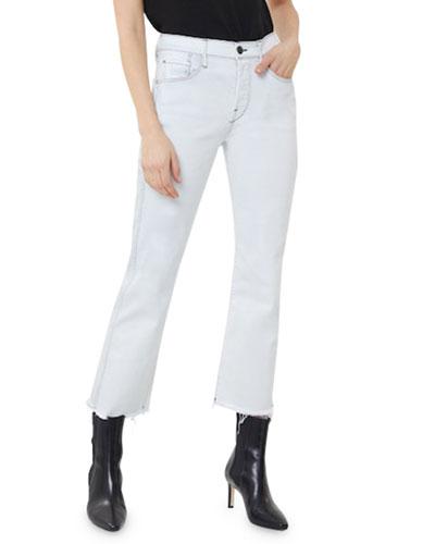 Austin High-Rise Straight Crop Jeans