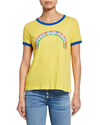 Just Do You Johnny Ringer Short-Sleeve Slogan T-Shirt