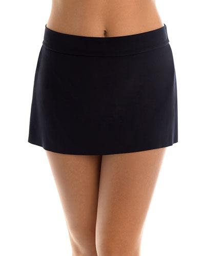 Jersey Tennis Skirt Swim Bottom