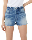 3x1 W4 Carter Distressed Denim Cutoff Shorts
