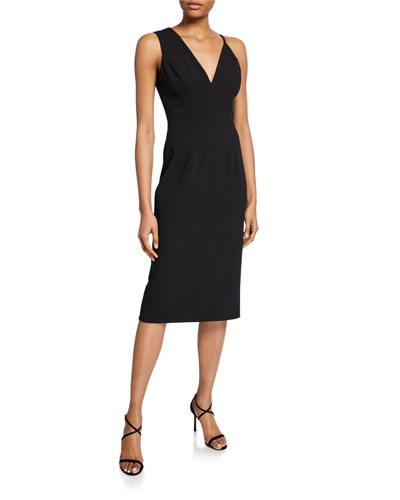 Erika Sleeveless Asymmetric Dress
