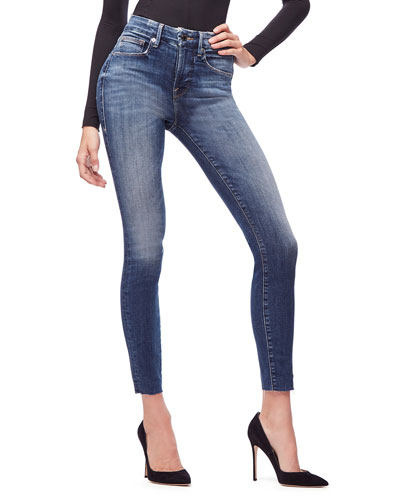 Good Legs Raw-Edge Skinny Jeans - Inclusive Sizing