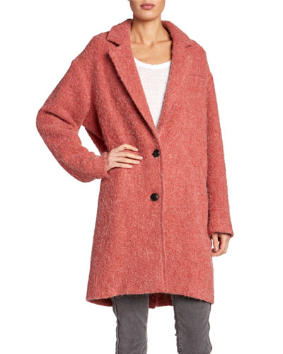Dante Two-Button Alpaca Coat