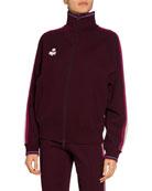 Etoile Isabel Marant Darcey Side-Stripe Track Jacket