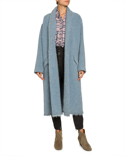 Faby Wool-Alpaca Long Coat