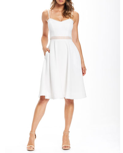 Harlow Sweetheart Sleeveless Dress