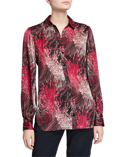 Danton Abstract Button-Down Shirt
