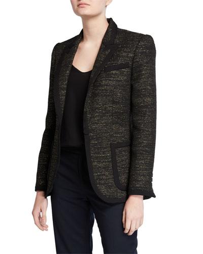 Bodanne Tweed Blazer