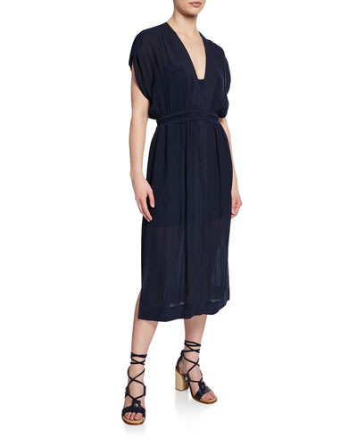 cc07d01bc2f2 Quick Look. Rag & Bone · Amelie V-Neck Short-Sleeve Dress