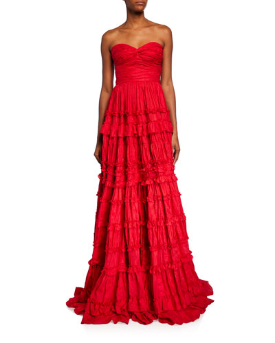 Allora Strapless Gown