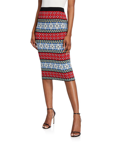 5c09f1d4e0 Quick Look. Alice + Olivia · Morena Pencil Skirt
