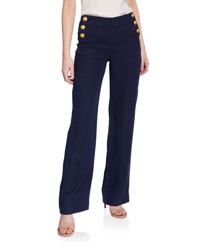 Dee High-Rise Sailor Pants