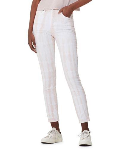 Olivia Cropped Tie-Dye Jeans
