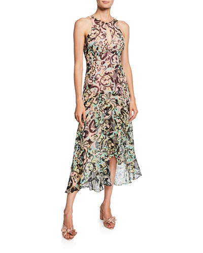 c16a79b1aca87 Quick Look. Nanette Lepore · Hypnotic Printed Sleeveless Keyhole Dress