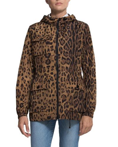 Giorgia Lightweight Jacket w/ Hood