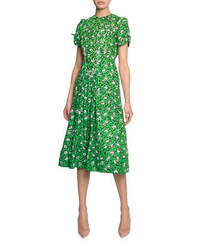 Sofia Loves The '40s Floral-Print Midi Dress