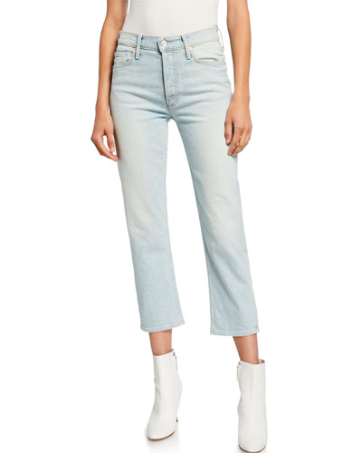 The Tomcat High-Rise Relaxed Crop Jeans