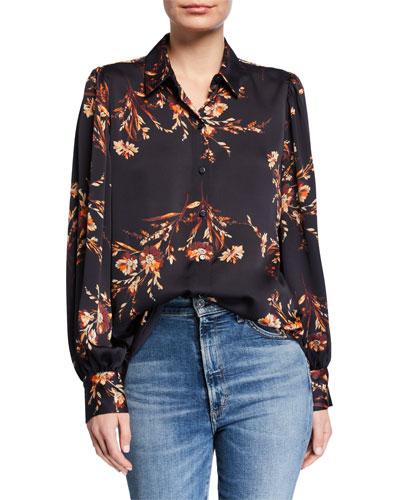 Danton Floral Button-Down Shirt