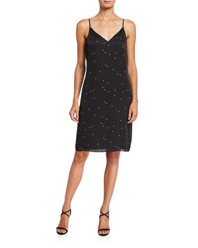 Tansie V-Neck Slip Dress