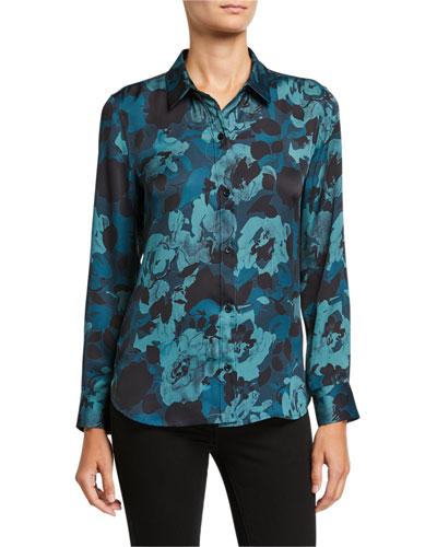 Leema Floral Button-Down Shirt