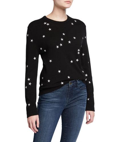 Nartelle Stars Crewneck Sweater