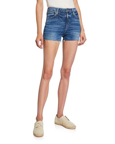 Margot Cutoff Denim Shorts