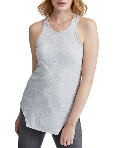 Base Layer Essential Jersey Racerback Tank