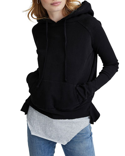 Triple Fleece Pullover Cotton Hoodie