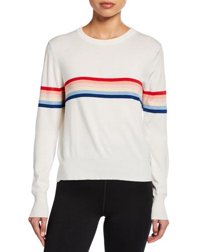 Knit Rainbow Sweater