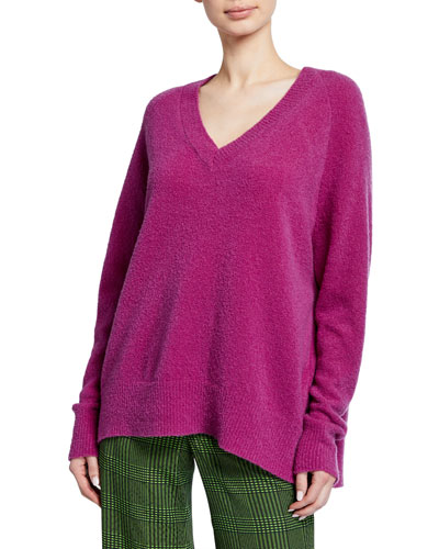 Karwat V-Neck Wool Sweater