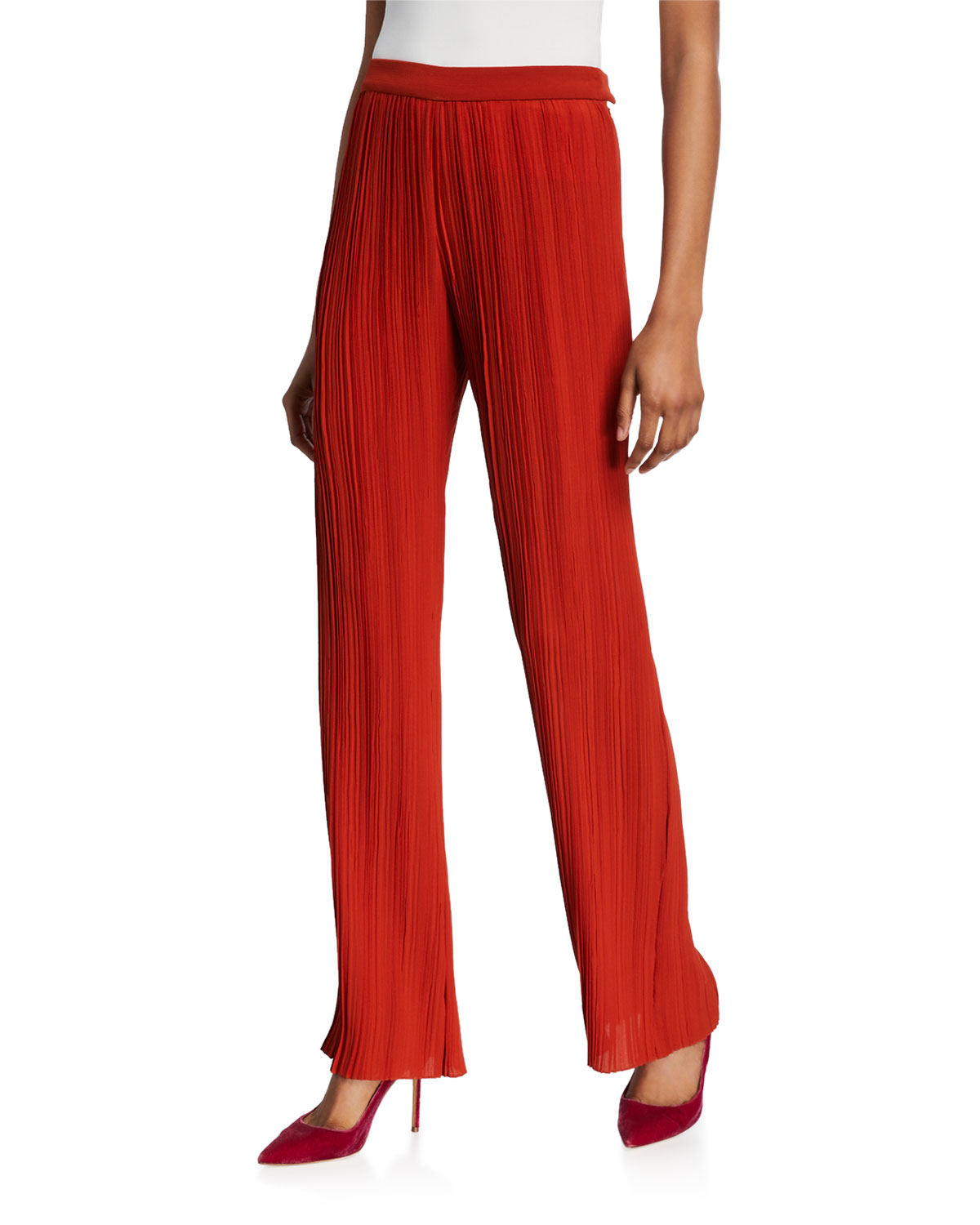 Victoria Victoria Beckham Pants PLEATED TROUSERS