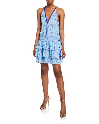 Bety Tiered Sleeveless Mini Dress